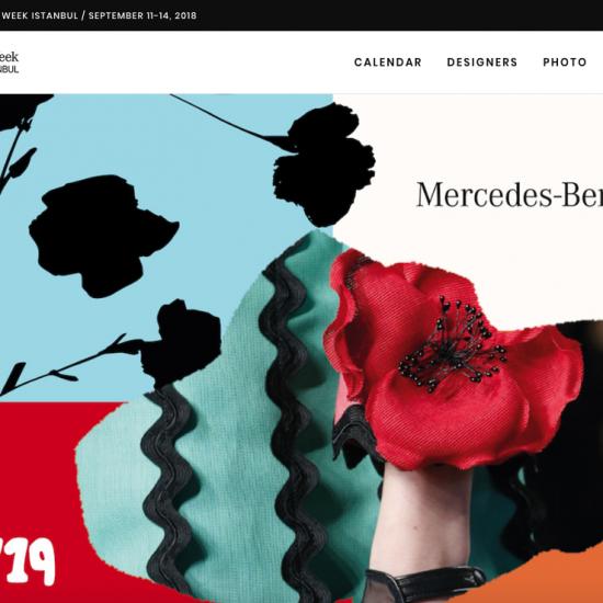 Mercedes-Benz Fashion Week Moda Haftası Web Sitesi
